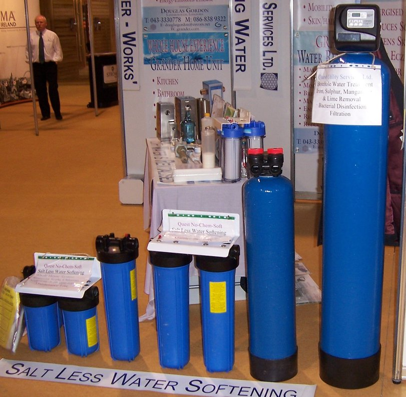 Non chemical water softening