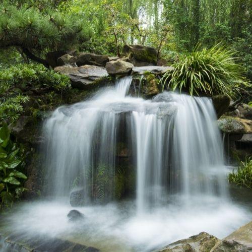 Waterfall. Living Water
